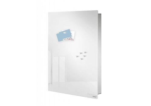 BLOMUS Velio key cabinet / magnetic board height 40cm (White)