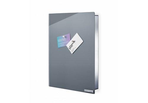 BLOMUS Velio key cabinet / magnetic board height 40cm (gray)
