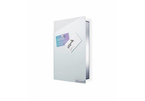 BLOMUS Velio key cabinet / magnetic board height 30cm (White)