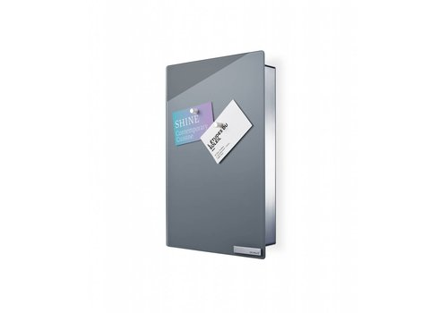 BLOMUS Velio key cabinet / magnetic board height 30cm (Gray)