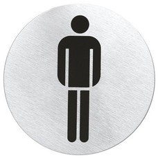 "BLOMUS SIGNO door symbol ""man"" (mat)"