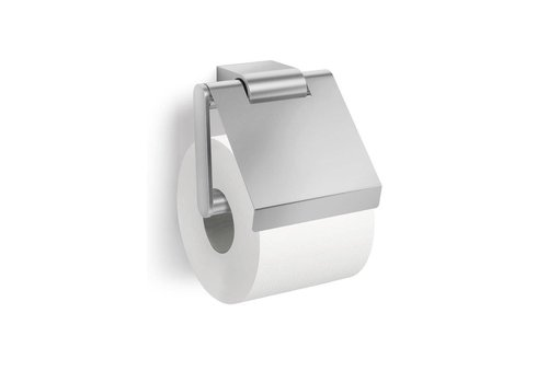 ZACK Atore toilet roll holder with lid (mat)