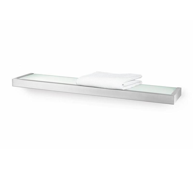 Badkamer planchet (linea lijn) - 61,5cm breed - Geborsteld rvs (ZACK ...