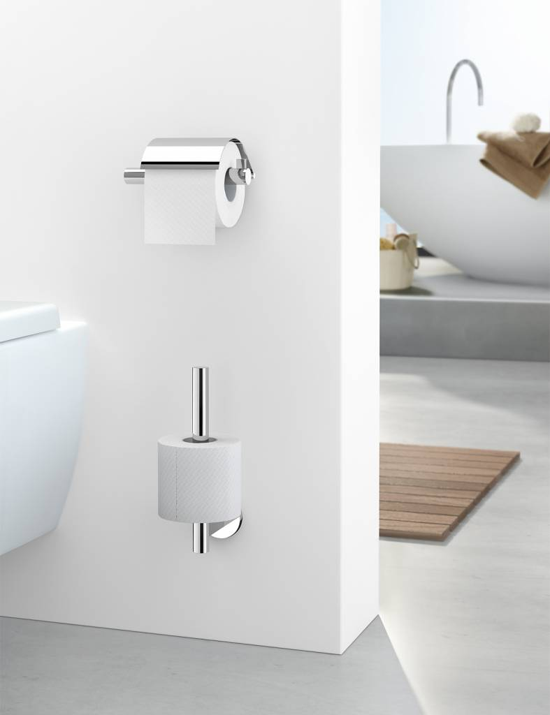 Toilet accessories - ZACK (Scala) spare toilet roll holder - In ...