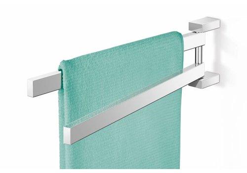 ZACK LINEA towel bars pivotable (gloss)