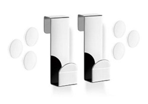 ZACK MITOR hook (set / 2) for glass shower enclosure (gloss)