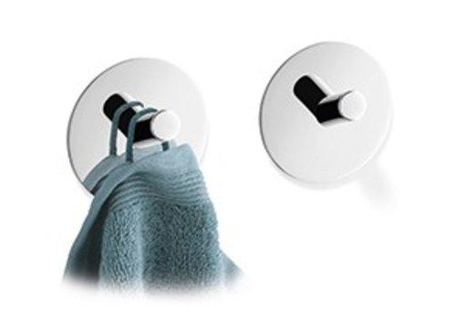 ZACK DUPLO towel hooks self-adhesive set / 2 (gloss)
