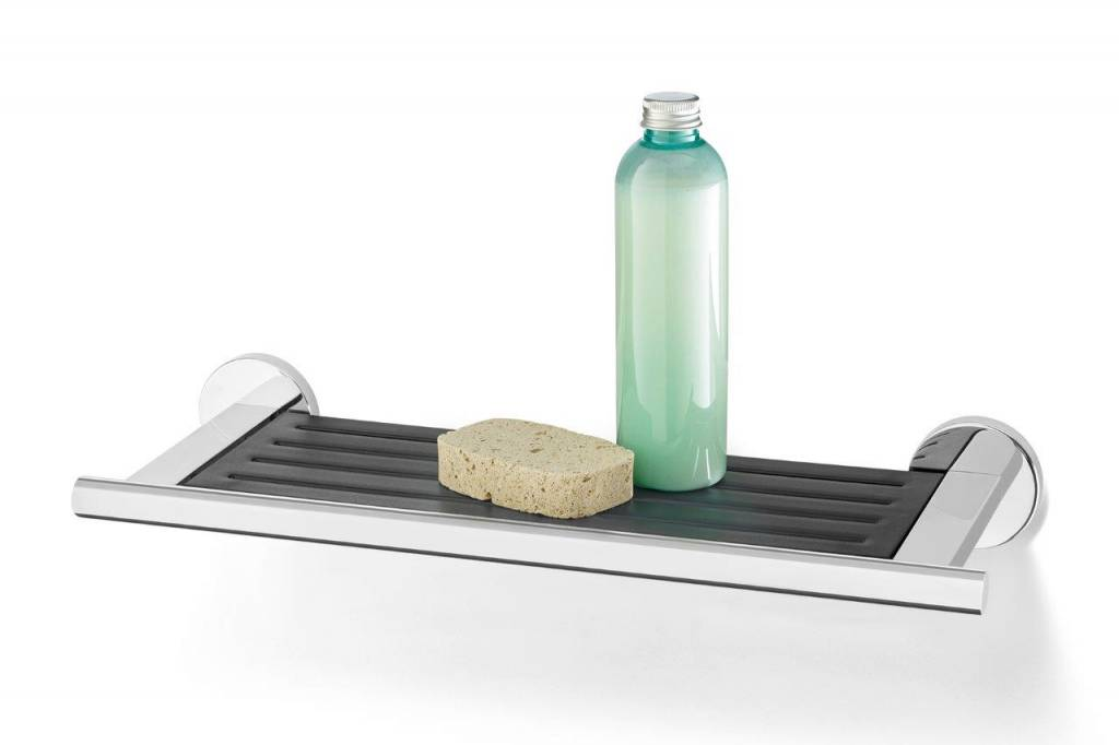 Bathroom shelf - Mat stainless steel or polished stainless steel ...