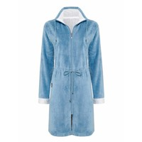 CHICAGO bathrobe China Blue-406