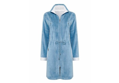 Vandyck CHICAGO bathrobe China Blue-406
