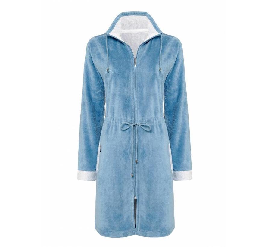 CHICAGO bathrobe China Blue-406 (BAGE14202)