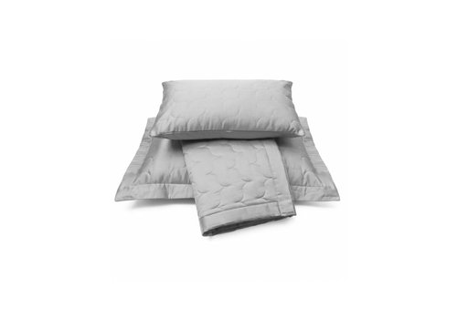 Vandyck Bedspread SATIN Steel Grey-426 (light gray)