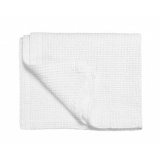 Vandyck Bedspread waffle blanket HOME 71 White (white)