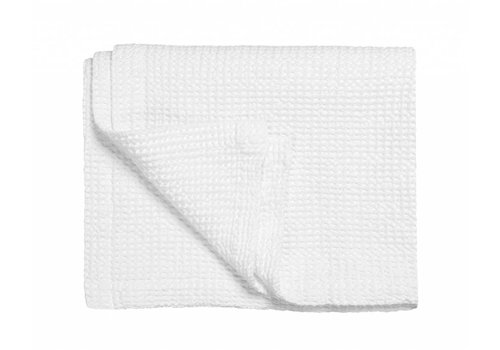 Vandyck Bedspread waffle blanket HOME 71 White (white)
