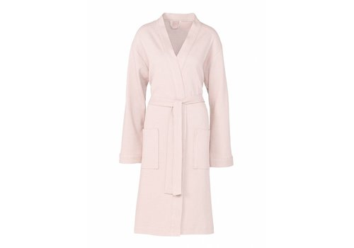 Vandyck HAVANNA bathrobe Light Pink-008