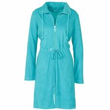 Vandyck VOGUE bathrobe Aqua-070