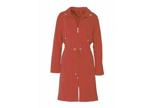 Vandyck VOGUE bathrobe Spicy Red-132