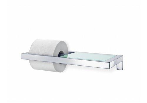 BLOMUS MENOTO toiletrolhouder met glasplaat (glans)