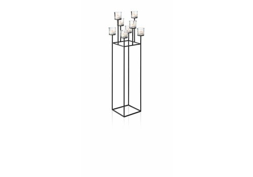 BLOMUS NERO standing candle holder 128 cm (8 candles)