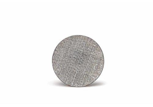 S&P RAWW Black flat plate 20 cm (set / 4)