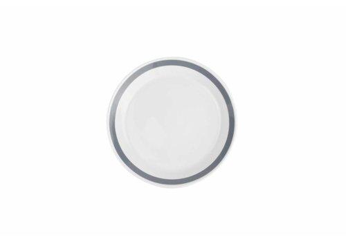 S&P STRIPES deep plate 23cm (gray) set / 6