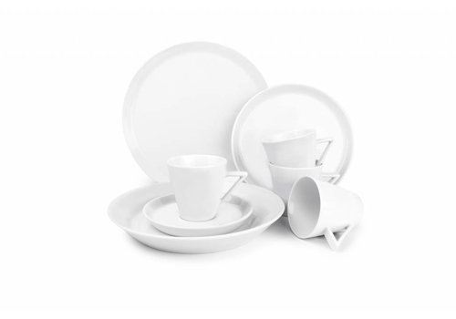 S&P STRIPELESS 20-piece dinnerware (white)
