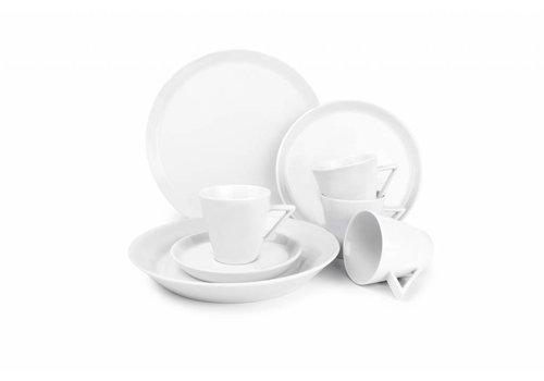 S&P STRIPELESS 20-piece dishes (white)