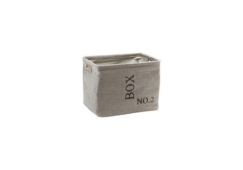 Aquanova Storage Basket Evora Flax-11 (medium)