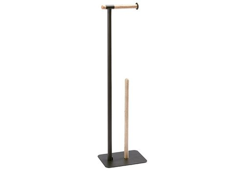 Aquanova Toilet roll paper holder Oscar Black-09