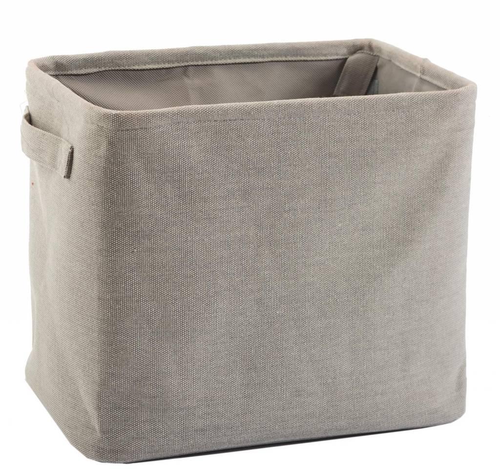 Opbergmandje badkamer - Kleur Steel grey-97 - Nieuwe AQUANOVA ...