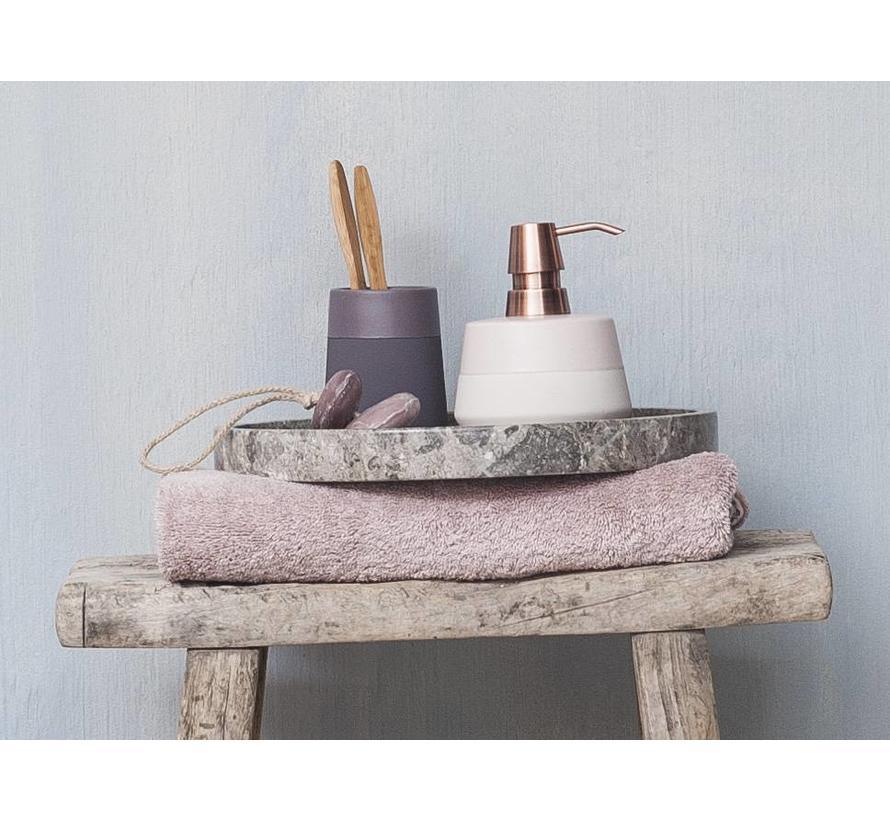 Handdoek LONDON Dusty Pink-87