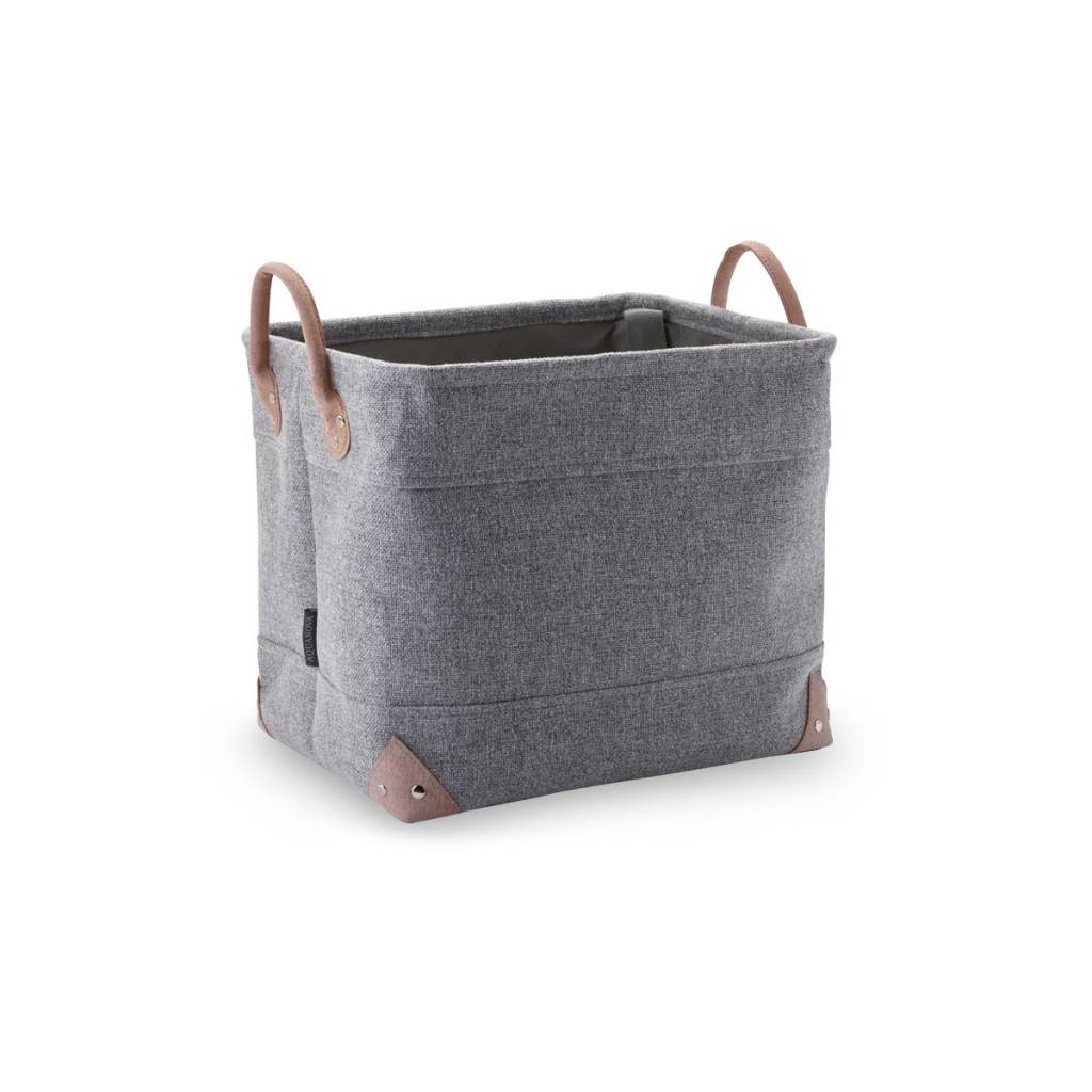 Storage Basket LUBIN Silver Gray 95 (Medium)