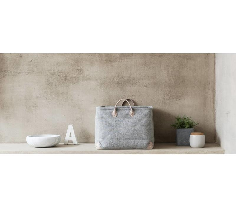 Opbergmand LUBIN Silver Grey-95 (Medium)