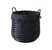 Aquanova Laundry basket GISLA Black-09 (Small)