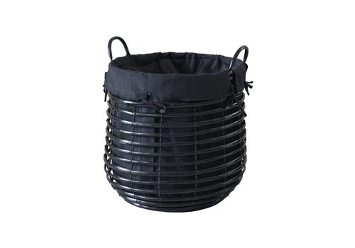 Aquanova Laundry basket GISLA Black-09 (Small)