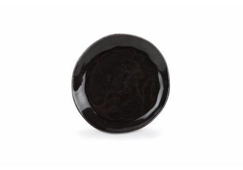 S&P ARTISAN plat bord 20 cm (zwart) set/4