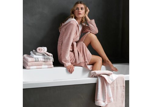 Vandyck DUCHESS bathrobe Sepia Pink-144
