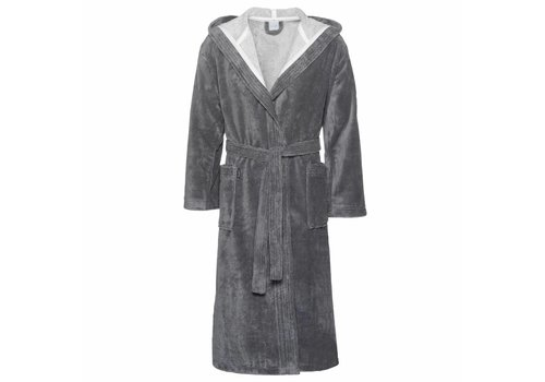 Vandyck CARDIFF bathrobe Gray-011