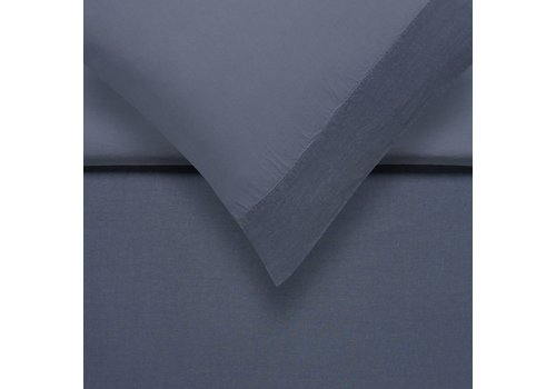 Vandyck PURE 07 duvet cover 240x200 / 220 cm Faded Denim (linen / satin cotton)