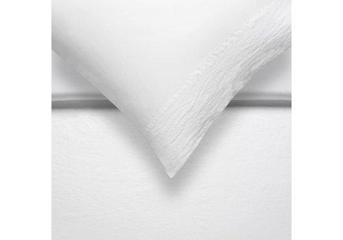 Vandyck PURE 07 duvet cover 240x200 / 220 cm White (linen / satin cotton)