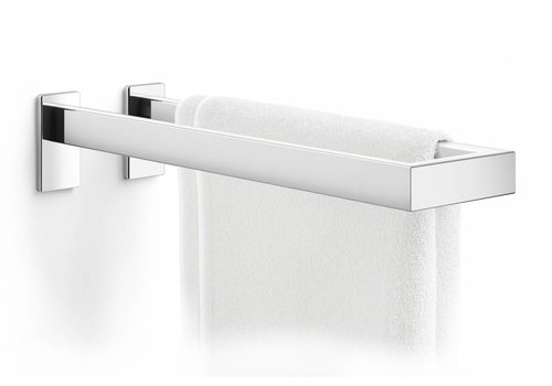 ZACK LINEA double towel rail (shine)