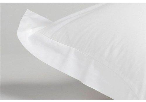 Kussensloop 60x70 cm OXFORD White-090 (satijnkatoen)