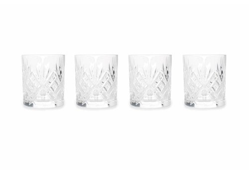 S&P Whisky glazen BAR ECHO (set/4)