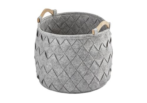 Aquanova Storage basket AMY Silver Gray-95 (Medium)