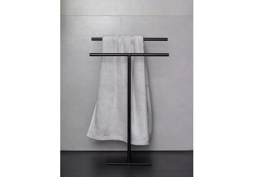 Aquanova Towel rail MONO 50 cm Black-09