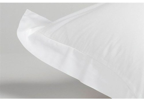 Cushion cover 60x70 cm OXFORD White-090 (satin cotton) - Copy