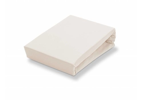 Vandyck Splittopper fitted sheet Natural-086 (jersey supreme)