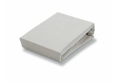 Vandyck Splittopper fitted sheet, Silver Gray-088 (jersey supreme)