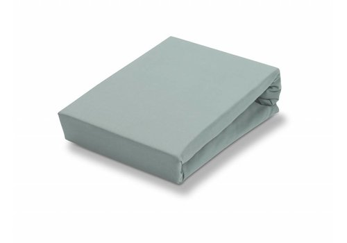Vandyck Splittopper fitted sheet Celadon Green-402 (jersey supreme)