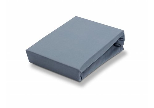 Vandyck Fitted sheet Dusty Blue-114 (Jersey Soft)